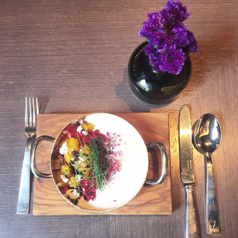 Red Beets Risotto