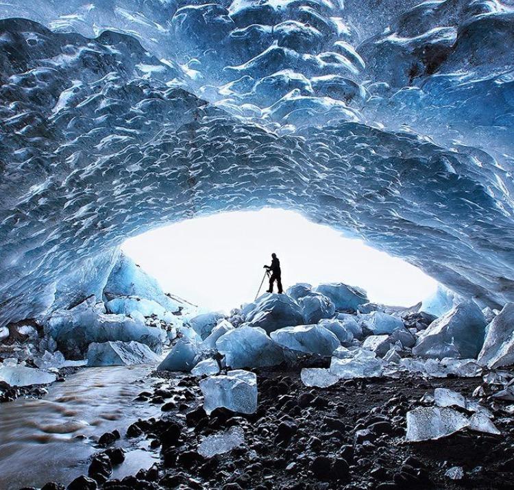 Inside Glacier