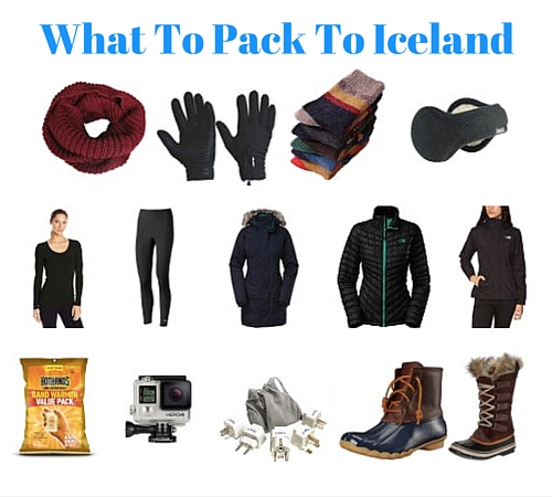 What To Pack To Iceland