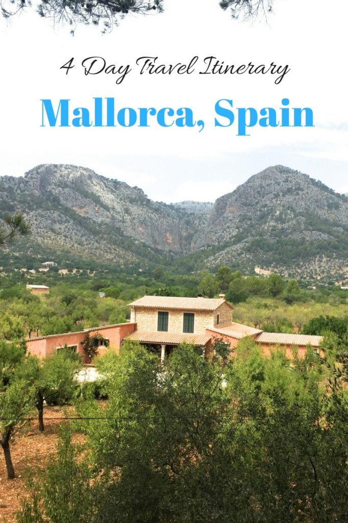 4 Day Travel Itinerary: Mallorca, Spain