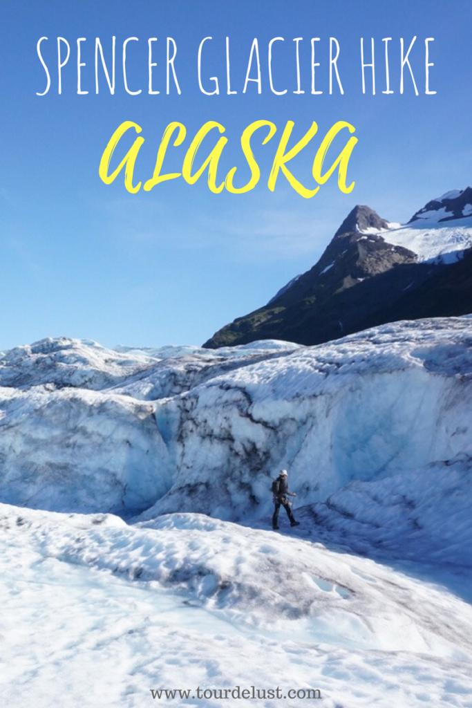 Spencer Glacier Hike in Alaska