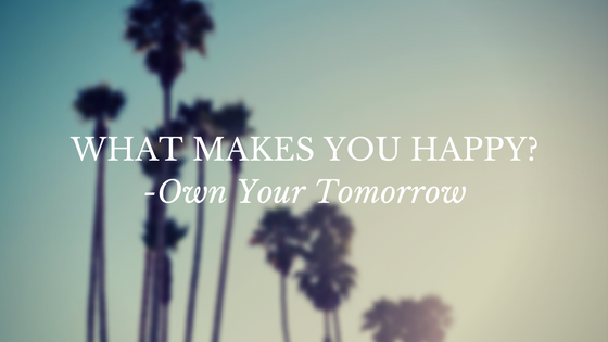 Own your tomorrow