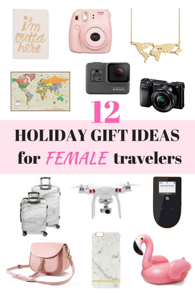 12 Holiday Gift Ideas for Female Travelers