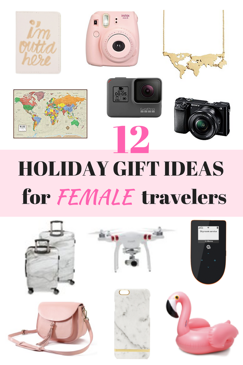 12 holiday gift ideas for female travelers for Christmas gifts for travelers